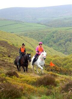 Riding on Exmoor