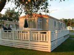 Property Photo: Caravan and decking
