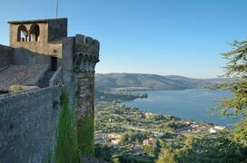 View from Bracciano city