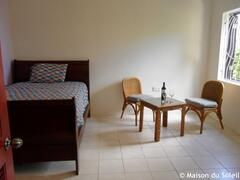 Sleeping and living area