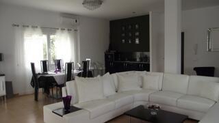 Large living Room with log Burner 2nd Floor