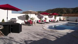 BBQ and swimming pool deck