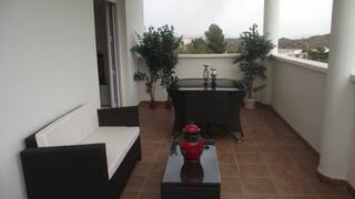 Covered terrace on 2nd Floor