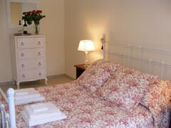 Property Photo: Our red room
