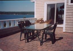 Property Photo: Oceanfront patio