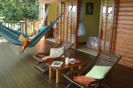 Laze the day away in the hammock......this is how to chill!!