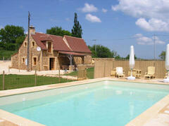 Property Photo: Le Coderc with pool