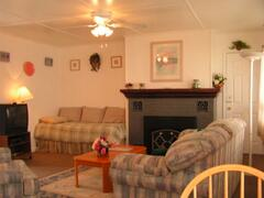 1BR Duplex Unit Living Room