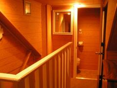 Upstairs hall 2BR Duplex Unit