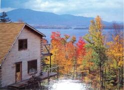 Property Photo: Moosehead Lake in Fall Colors