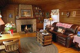 Property Photo: Log Cabin Suite