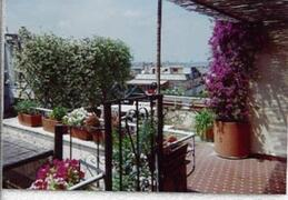 Property Photo: Terrace with view  on Rome