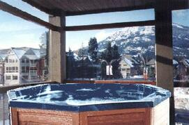 Property Photo: Your own hot tub on your private deck