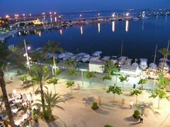 Paseo Maritimo at Night