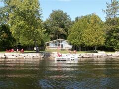 Property Photo: Loon Talk Cottage from the lake.