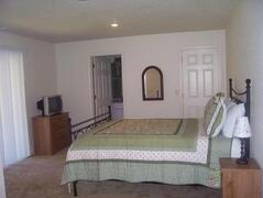 Property Photo: Master bedroom of the duplex