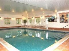 Property Photo: wallow in our indoor heated pool