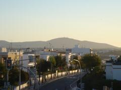 terrace mountain view