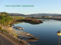 Property Photo: View from River Ebro Apartments