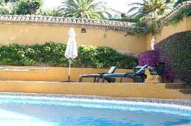 Property Photo: cottage pool
