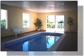 Property Photo: Mimosa Holidays - Villa Mimosa - Indoor Heated Pool