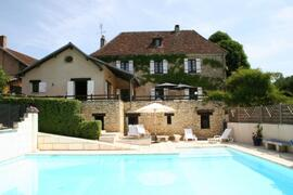 Property Photo: La Chataigne from the private pool