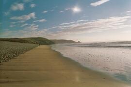 Nearby Newgale beach