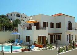 Property Photo: Villa Front View in Chania, Crete