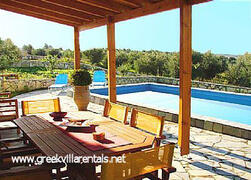 Property Photo: The Villa & Pool, Rethymno area, Crete,Ref:71317