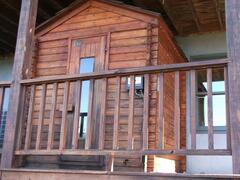 enjoy a Sauna off the lower deck