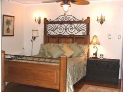Queen Bedroom of the Safari Suite