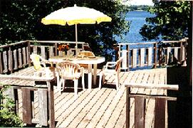 Property Photo: Side Deck
