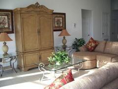 Property Photo: Luxurious living room furnishings