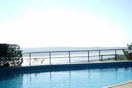 Pool and Lagoon View