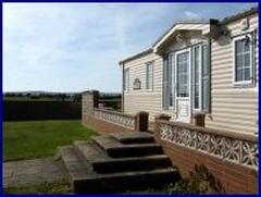 Property Photo: New Forest Holiday Caravan with Lymington sea views