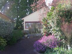 Property Photo: Studio in Spring Time