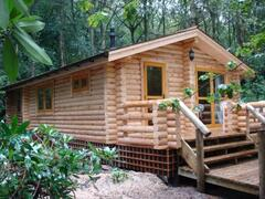 Property Photo: Real Log Cabin