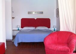 Bed Area by Cottage by Lake Bracciano, Rome