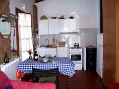 kitchen area by Cottage by Lake Bracciano, Italy