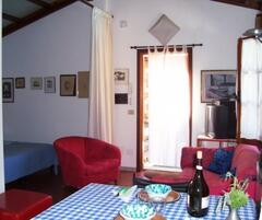 inside Cottage by Lake Bracciano, Italy