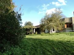 Property Photo: the Villa of Manziana in the private 15.000 sq.mt greenery