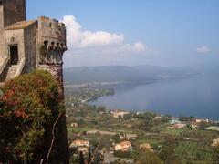 the lake Bracciano