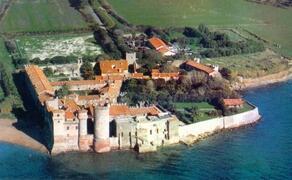 Santa Severa Castle by the sea, a few KM from Bracciano
