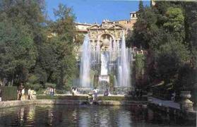Tivoli Villa d'Este 2 hours from Bracciano