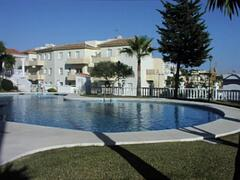 Property Photo: The main pool with shallow childrens pool