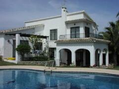 Property Photo: The villa and private pool