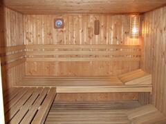 The large sauna