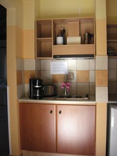 Turtle Island Sea View Studio kitchenette
