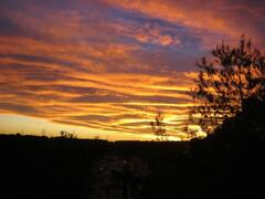 Property Photo: Sunset from No.72