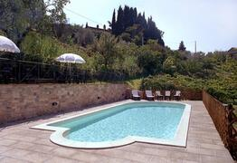 Property Photo: The Charming Villa Nuba apartments, The charming swimming pool with salt water! Perugia vacation rental